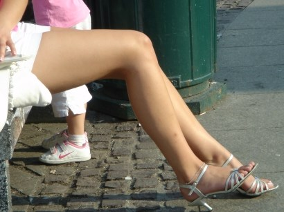 Image of Russian girl legs