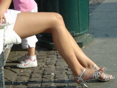 Image of Russian girl legs