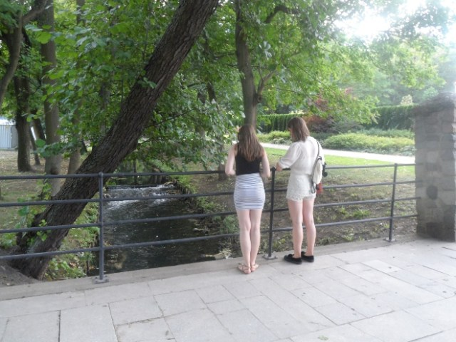 nice girls in the park