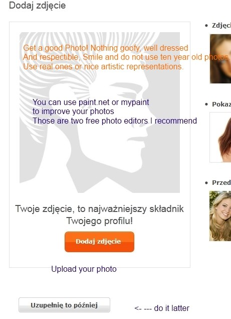 Photo for your profile Poland