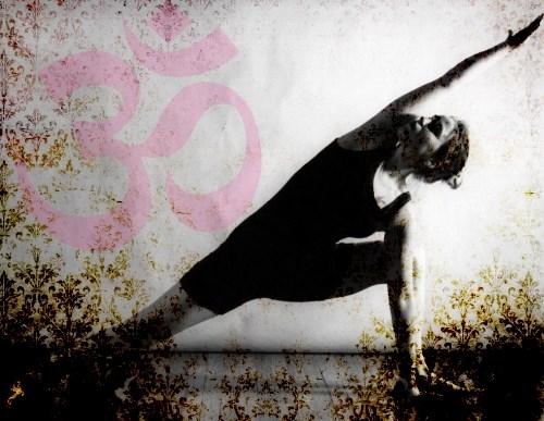 yoga girls position