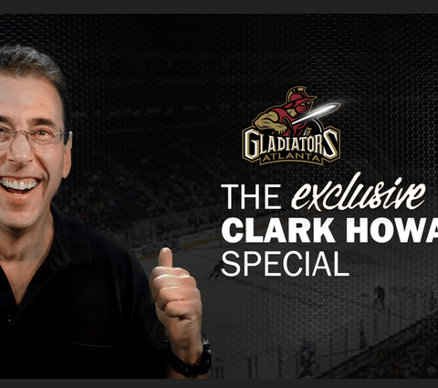 Clark Howard Night with the Gwinnett Gladiators