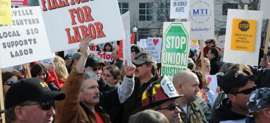 Union membership is at an all-time low