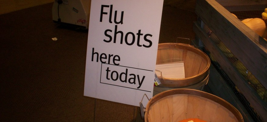 Exercise increase effectiveness of flu shot
