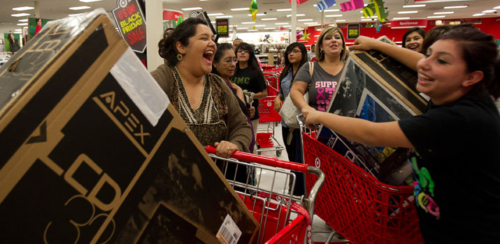 Black Friday starting on Thanksgiving this year
