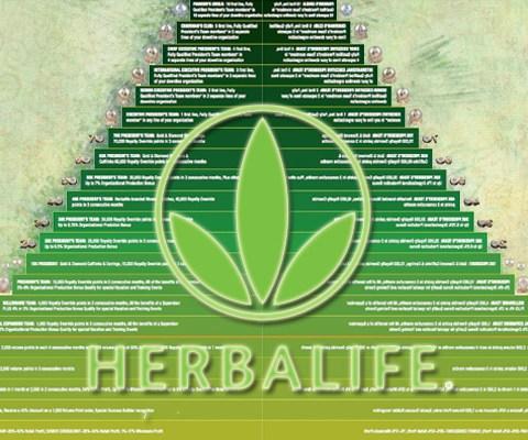 Is Herbalife a pyramid scheme?
