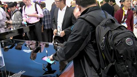 Start-up businesses at the Consumer Electronics Show