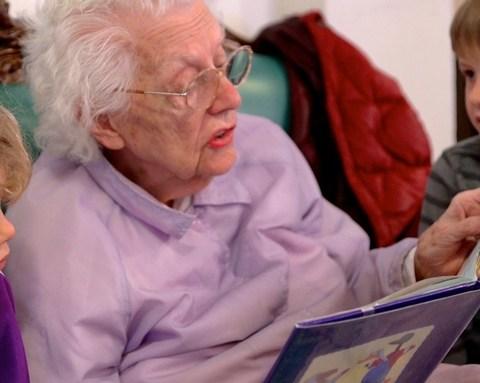 Preschool Inside Nursing Home Rewarding for Kids, Seniors