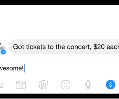 You can now send money to your friends via Facebook Messenger