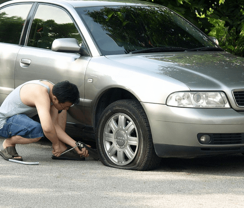 Watch: How to change a tire