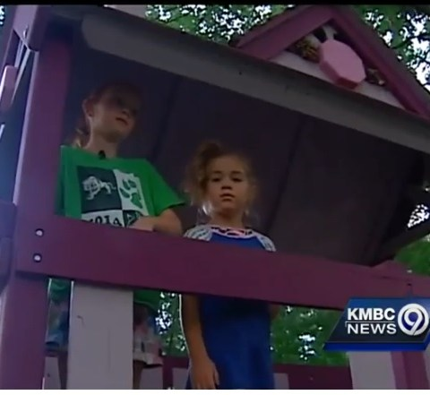 Homeowner group threatens family with jail time over purple playground