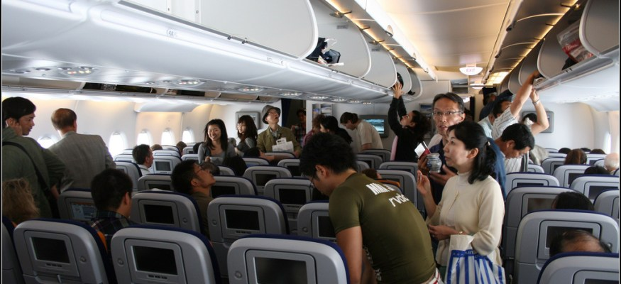 7 things to avoid touching on a plane