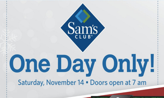 2019 Sams Club Holiday Hours And Schedule Savingadvice Com >> Sam S Club Pre Black Friday Sale Check Out The Best Deals Clark