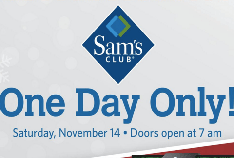 Sam's Club pre-Black Friday sale: Check out the best deals!
