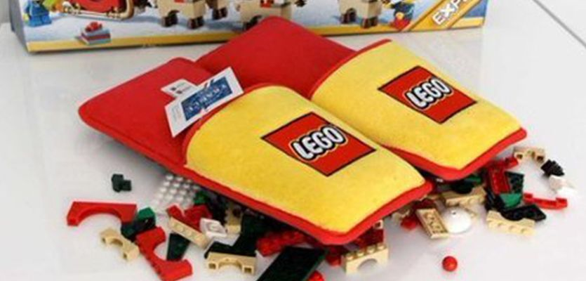 Always stepping on Legos? These slippers will save your tortured feet