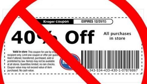 Kroger grocery stores warn against fake coupon scam