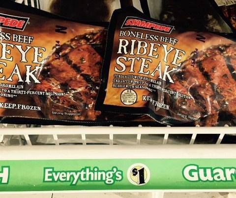 Dollar Tree now sells $1 ribeye steaks