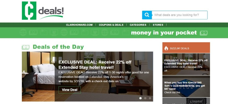 BIG savings: The new Clark Deals site has arrived!