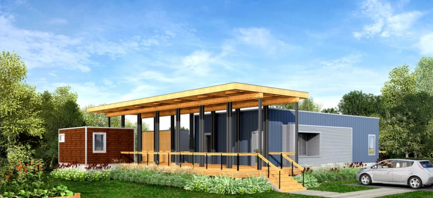 Check out this new line of efficient, zero-energy homes that start under $100,000