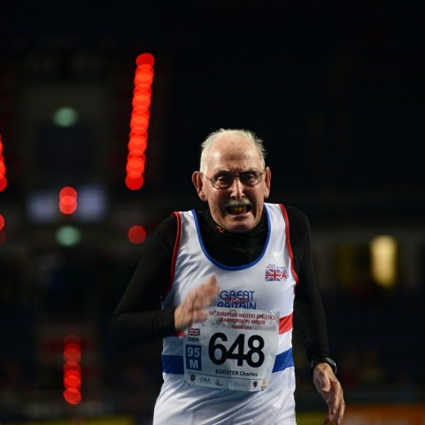 """96-year-old hates """"retirement,"""" becomes body builder and runner"""