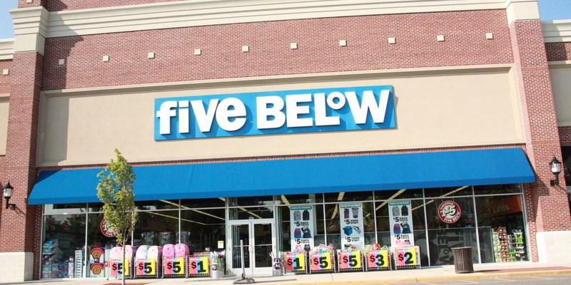 five below storefront