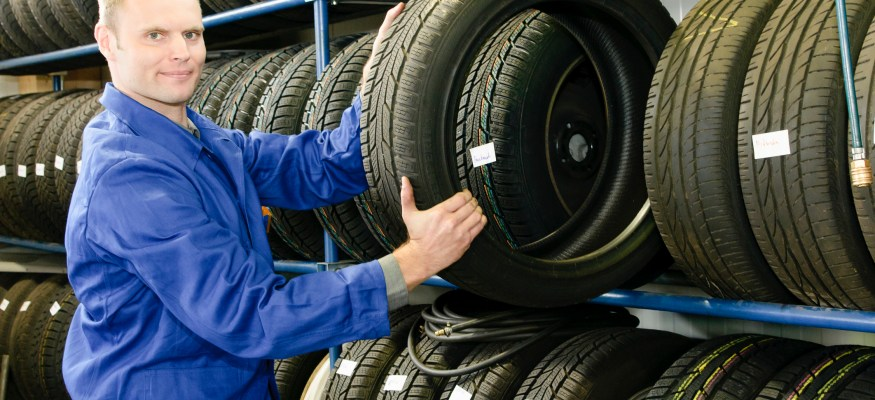 Tires in store