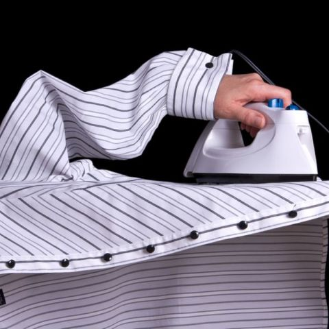 The quickest and easiest way to iron your clothes