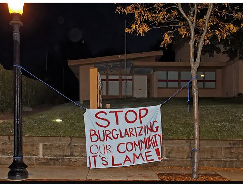 burglar sign
