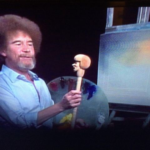 The story behind Bob Ross' signature hairstyle is about money