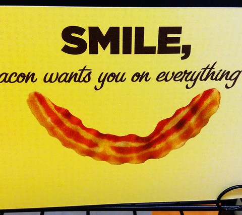 Help wanted: Freelance bacon critic! Work from home!