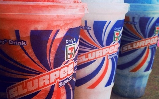 Get a free Slurpee today at 7-Eleven!