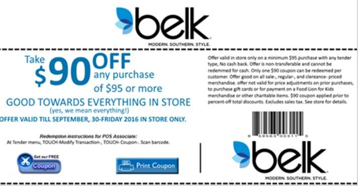 Beware of this fake Belk coupon on Facebook