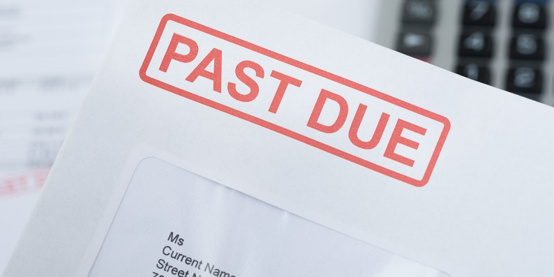 How soon can late payments be sent to a debt collector?