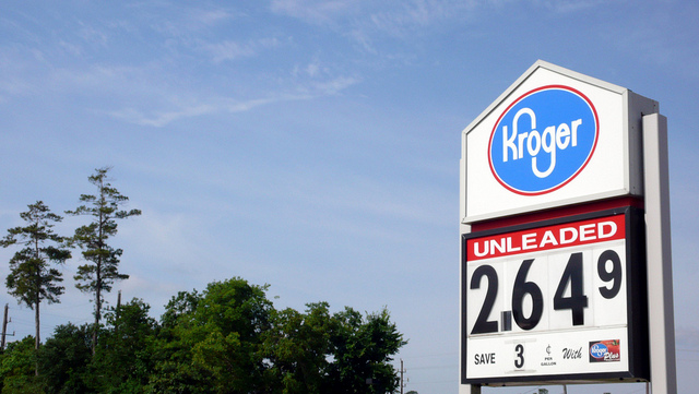 Kroger gas sign
