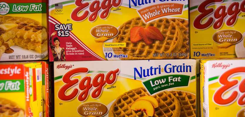 10,000 cases of Eggo waffles recalled
