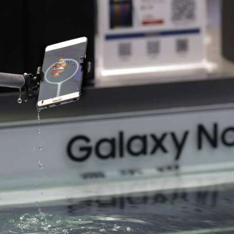 Samsung Note 7 recalled over exploding batteries
