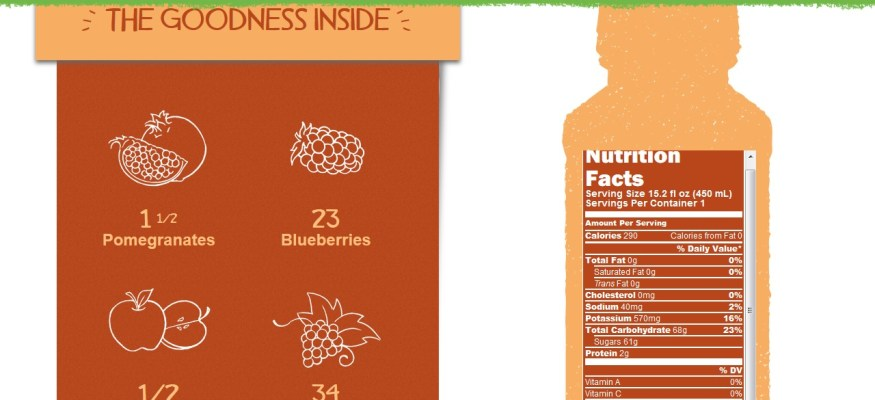 Naked Juice sued for being marketed as healthier than it really is