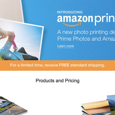 Amazon offering cheap photo print service for Prime customers
