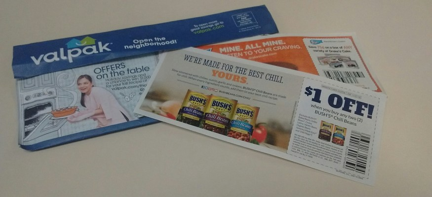 Valpak now putting grocery coupons in your mailbox