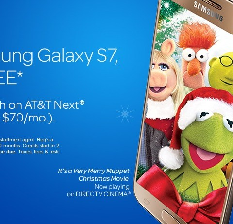 'Buy one, get one free' smartphone offer from AT&T good through Christmas Eve