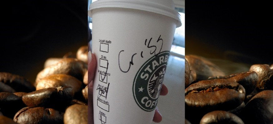 Is Starbucks spelling your name wrong on purpose? Here's one theory