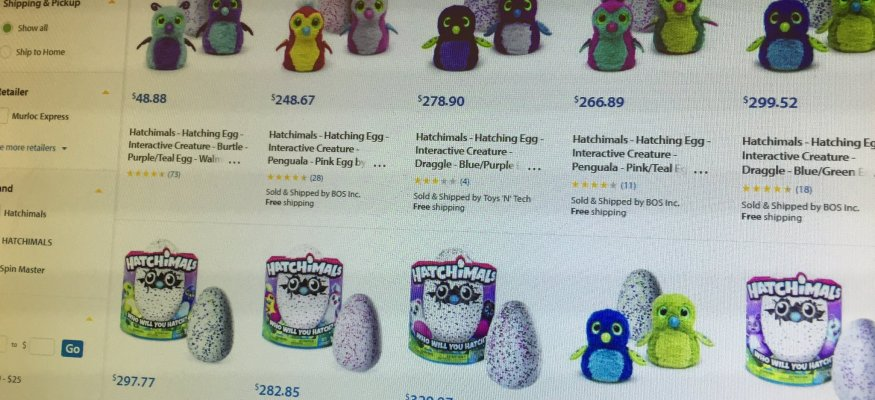 Third-party resellers jacking up prices on Hatchimals, Nintendo Classic NES