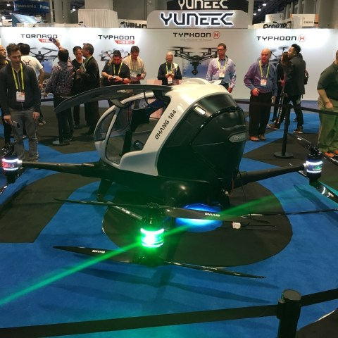 CES: Man-sized drones, augmented reality glasses and 'cute flying automatons'