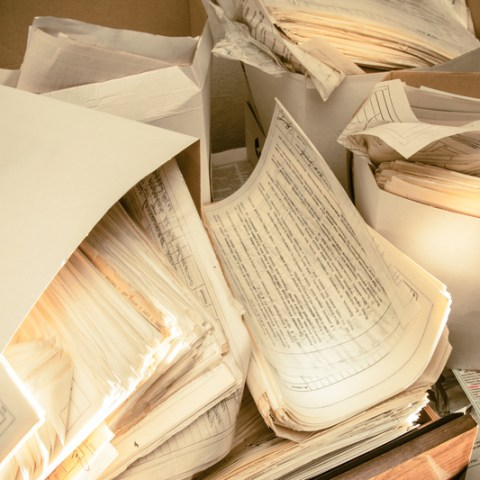 Records, paperwork and old files: What to keep and what to toss!