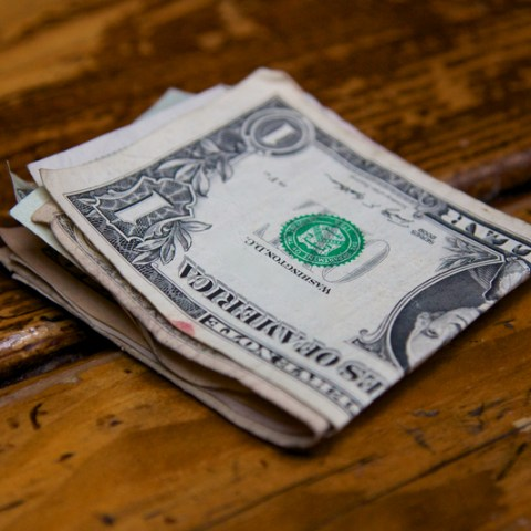 There are a lot of disgusting things living on your dollar bills