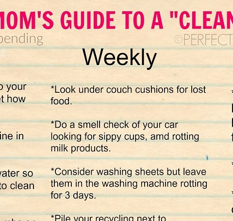 This mom's cleaning guide for busy parents is going viral