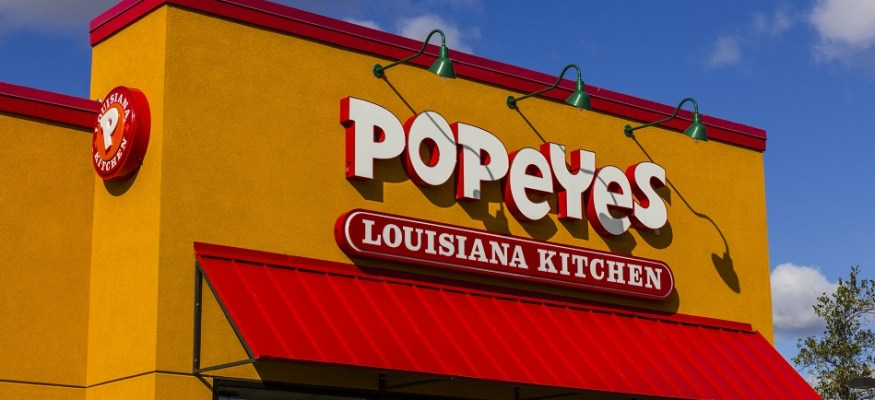 Burger King's owner is buying Popeyes for $1.8 billion