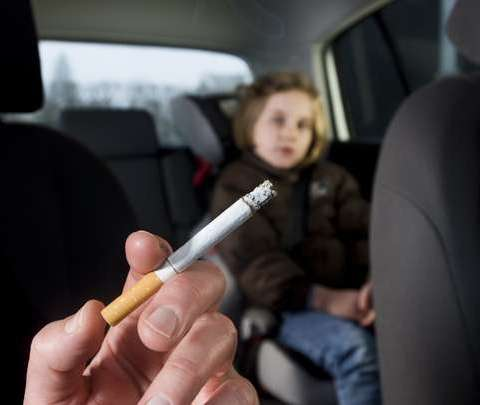 New law would ban smoking in cars when children are present