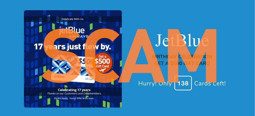 Watch out for this JetBlue scam on Facebook
