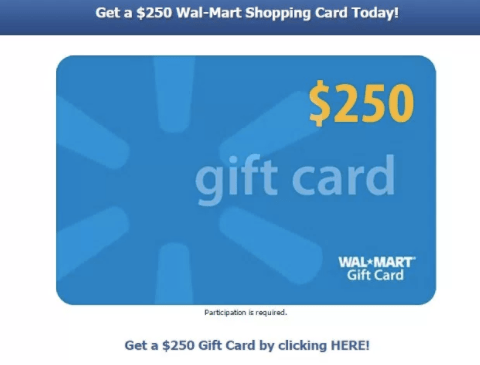 Warning: Don't fall for this fake Walmart gift card scam!